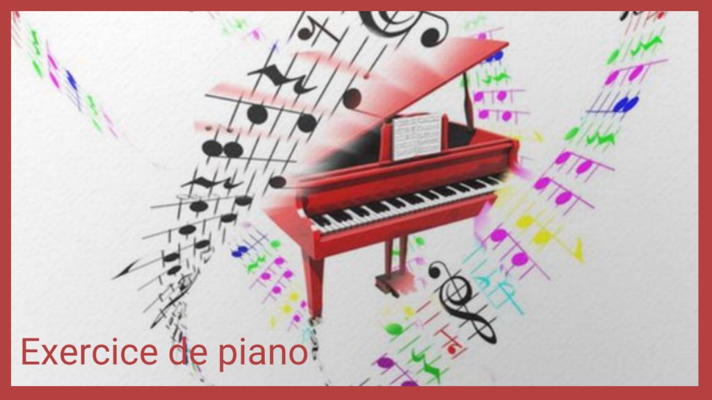 méthode exercice de piano