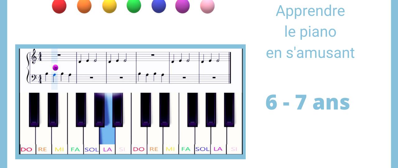 apprendre le piano en s'amusant