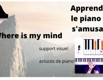 tuto de piano where is my mind